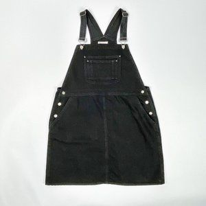 ASOS DESIGN Curve Denim Overall Dress 14